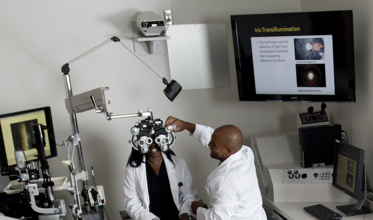Ophthalmological evaluation
